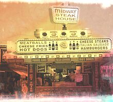 Midway Steak House Seaside Heights Boardwalk by SeasideHeights