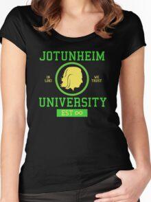 Jotunheim University Women's Fitted Scoop T-Shirt