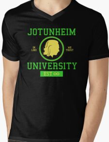 Jotunheim University Mens V-Neck T-Shirt