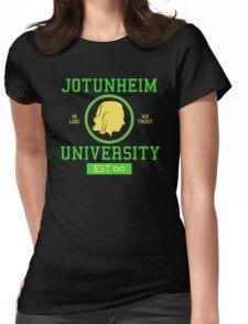 Jotunheim University Womens Fitted T-Shirt