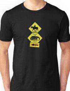 Sleepy Hollow Warning Signs Unisex T-Shirt