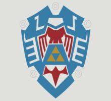 Hylian Shield Legend of Zelda: Majora's Mask by MikeCotopolis