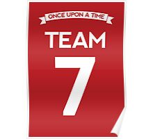 Once Upon a Time - Team 7 - Red Poster