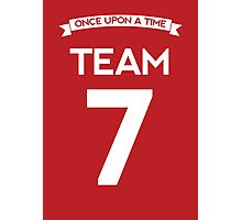 Once Upon a Time - Team 7 - Red Photographic Print