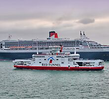 The Cunard Queen Mary 2 by Colin  Williams Photography