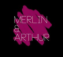 Merlin and Arthur by kindua