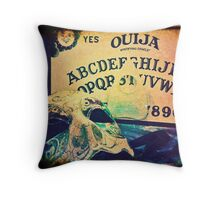 Haunting Touch Throw Pillow