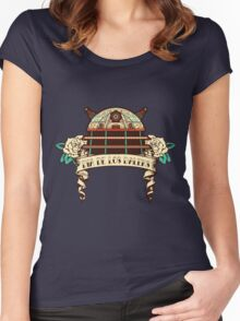 Dia de los Daleks II Women's Fitted Scoop T-Shirt