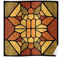 Sacred geometry - Voronoi Poster