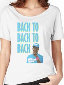 Back to Back to Back Women's Relaxed Fit T-Shirt