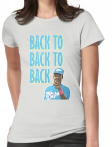 Back to Back to Back Womens Fitted T-Shirt