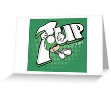 1UP Greeting Card