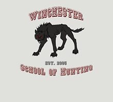 The Winchester School of Hunting Womens Fitted T-Shirt
