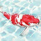 Koi fish by Goran Medjugorac