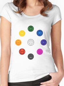 emotional Spectrum  Women's Fitted Scoop T-Shirt