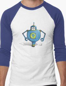 Robot Po Men's Baseball ¾ T-Shirt
