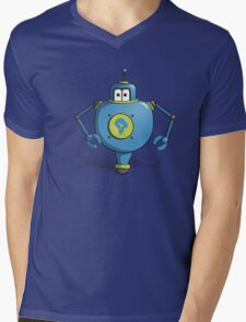 Robot Po Mens V-Neck T-Shirt
