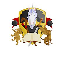 Mythical Crest Photographic Print
