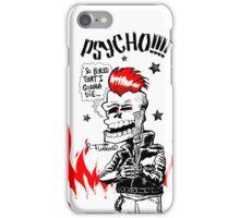 Psychobilly Skull!!! (1) iPhone Case/Skin