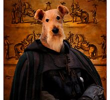 Airedale Terrier Art by Nobility Dogs by NobilityDogs