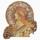 Mucha – Zodiac by William Martin