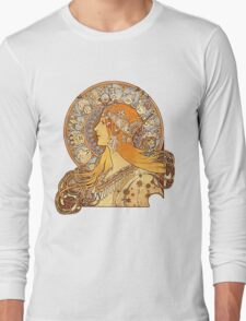 Mucha – Zodiac Long Sleeve T-Shirt