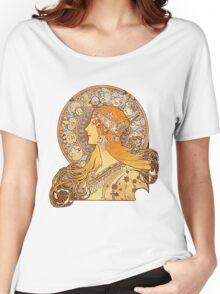 Mucha – Zodiac Women's Relaxed Fit T-Shirt