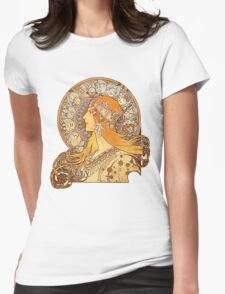 Mucha – Zodiac Womens Fitted T-Shirt