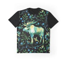 Watercolor elk Graphic T-Shirt