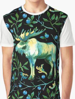 Watercolor elk Graphic T-Shirt