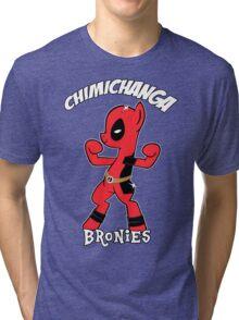 My Little Brony Pony Tri-blend T-Shirt