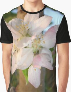 Beautiful Apple Blossom Cluster Graphic T-Shirt