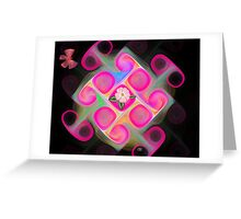 Pink Blossom Greeting Card