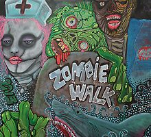 Zombie Walk by Laura Barbosa