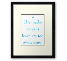 Potter in our stars Framed Print