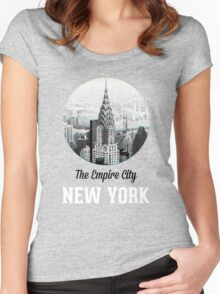 The Empire City Women's Fitted Scoop T-Shirt