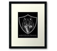 Stark Family Sigil Framed Print