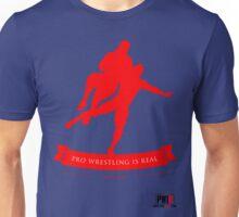 Pro Wrestling Is Real- Hitting Rock Bottom Unisex T-Shirt