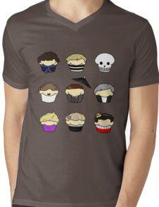Cupcake!Lock Mens V-Neck T-Shirt