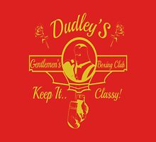 Dudley's Gentlemen's Boxing Club Mens V-Neck T-Shirt