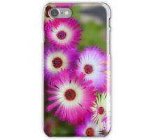 Mesembryanthemums in Neon iPhone Case/Skin