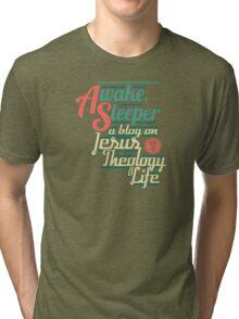 Awake, Sleeper Blog Shirt Tri-blend T-Shirt