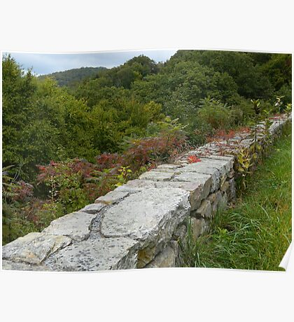 BLUE RIDGE PARKWAY-Virginia   ^ Poster