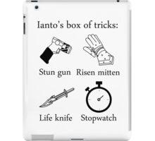 Ianto's box of tricks iPad Case/Skin
