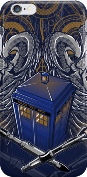 Timelord and Proud - Iphone Case #2 by TrulyEpic