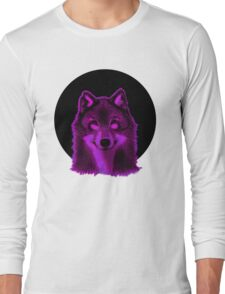 Pink wolf Long Sleeve T-Shirt