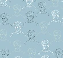 TROYE SIVAN MOSAIC - BLUE by tolginy