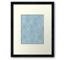 TROYE SIVAN MOSAIC - BLUE Framed Print