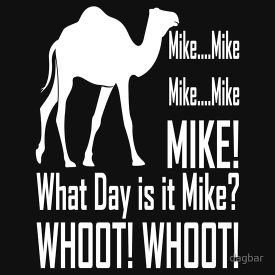Hump Day Camel Mike Mike Mike Hump Day Camel Mike Mike Mike