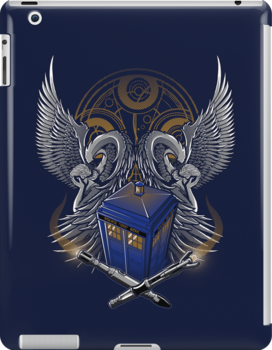 Timelord and Proud - Ipad Case #2 by TrulyEpic